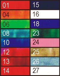 contents of encaustic art starter srt wax block colours