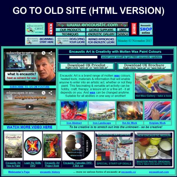 Go to the OLD HTML site version pre-2016