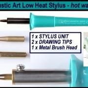 99530500 encaustic art stylus