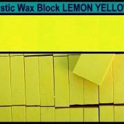 05 Lemon Yellow encaustic art wax block