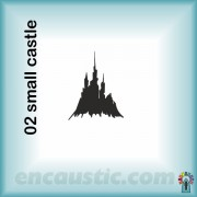 99550002SC_small_castle_rubber_stamp_600
