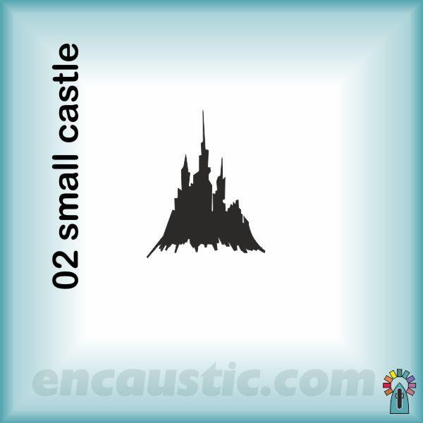 99550002SC_small_castle_rubber_stamp_600