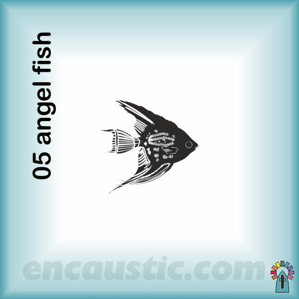 99550005AF_angel_fish_rubber_stamp_600