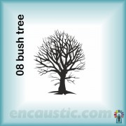 99550008BU_bush_tree_rubber_stamp_600