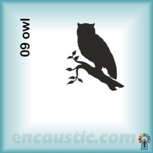 99550009OW_owl_rubber_stamp_600