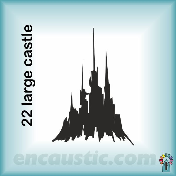 9550022LC_large_castle_rubber_stamp_600