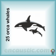 99550025KW_orca_killer_whales_rubber_stamp_600