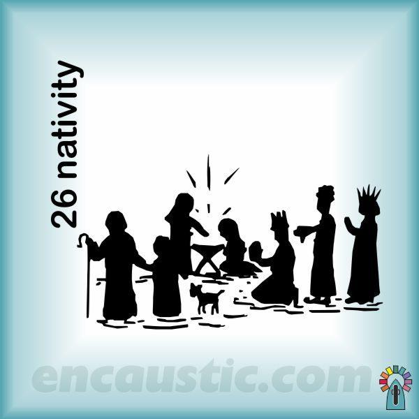 99550026NA_nativity_rubber_stamp_600
