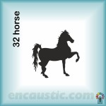 99550032HR_horse_rubber_stamp_600