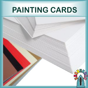 Painting Cards and Surfaces