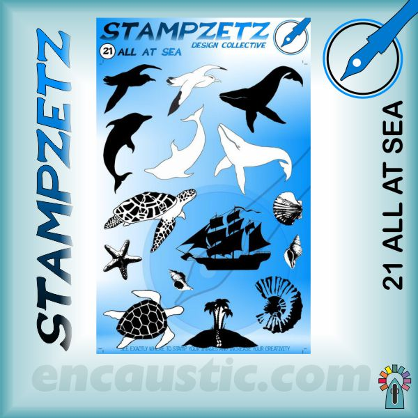 STAMPSZ 21 ALL AT SEA