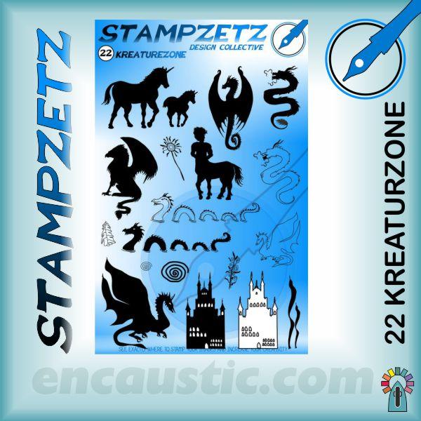 Stampzetz - 22 KREATURZONE