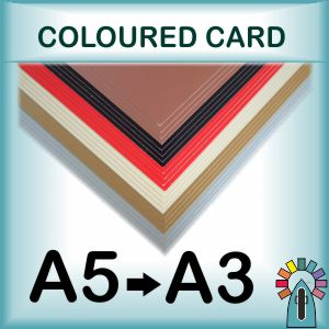 Coloured Painting Cards