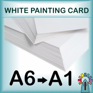 Painting Cards - White