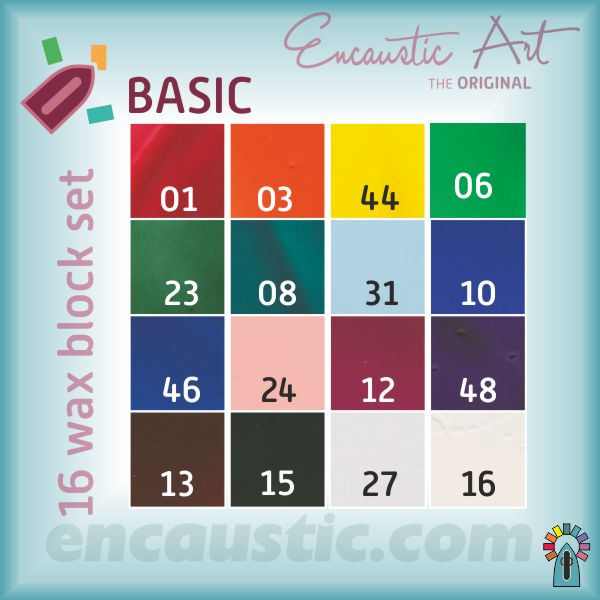 99535110 BASIC waxes 16 block set