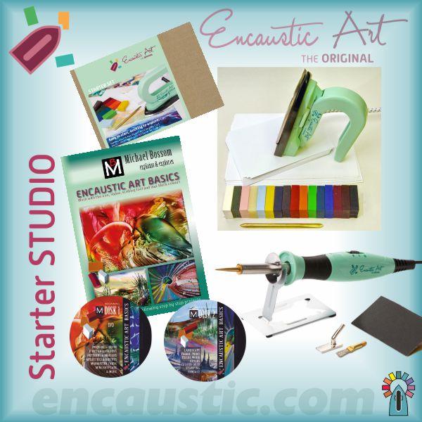 Starter Studio for Encaustic Art