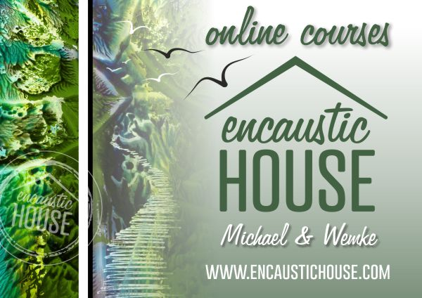 Encaustic House is LIVE!