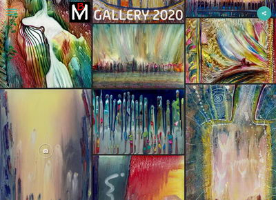 MB-GALLERY encaustic art done in 2020