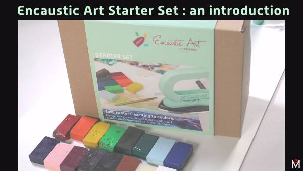 Encaustic Art Starter Set introduction by Michael Bossom 2020